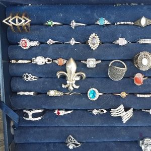 Resell Wholesale Ring Lot (40) SZ 6-12 Deal!
